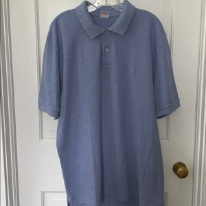 Brooks Brothers Powder Blue Polo. Original fit -XL